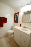 Bath room. Condo bath room stock image