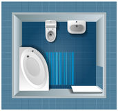 Bath room. Vector illustration eps.10 Royalty Free Stock Image