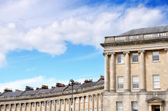 Bath Royal Crescent. Royal Crescent building in Bath, UK Stock Photography