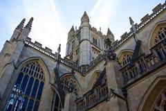 Bath's Abbey lateral. Bath's Abbey lateral view royalty free stock photos