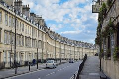 Bath`s Famous Paragon and The Star Inn stock image