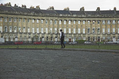 Bath's Royal Crescent Stock Photo