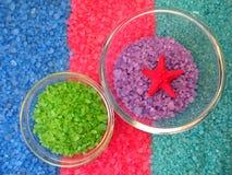 Bath salt Royalty Free Stock Photography