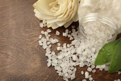 Bath salt Royalty Free Stock Photography
