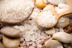 Bath Salt. Royalty Free Stock Photos