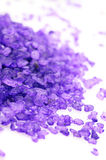 Bath salt close-up Royalty Free Stock Images