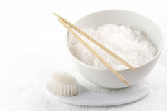 Bath salt of Dead Sea Stock Photography