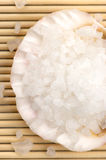 Bath salt of Dead Sea Royalty Free Stock Photo