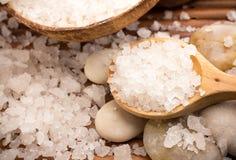 Bath salt. Royalty Free Stock Photography