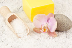 Bath salt and or Stock Photography