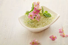 Bath salt Royalty Free Stock Image