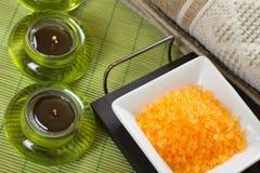 bath salt spa στοκ εικόνα με δικαίωμα ελεύθερης χρήσης