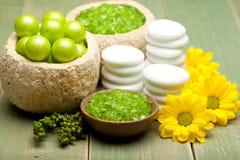 Bath Salt - Spa treatment Stock Images