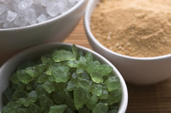 Bath salt. Spa. Wellness Royalty Free Stock Photography