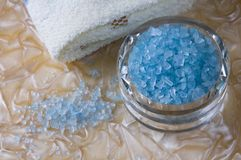 Bath salts Royalty Free Stock Photo