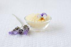 Bath salts Royalty Free Stock Photography