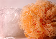 Bath Scrub Sponges Stock Images