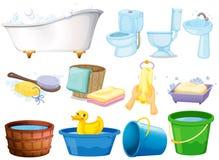 Bath Set Royalty Free Stock Images