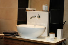 Bath sink Royalty Free Stock Photography