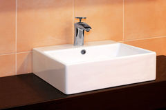 Bath sink Royalty Free Stock Image