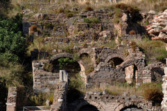 Bath Of Skolasticia, Ephesus, Turkey Stock Photography