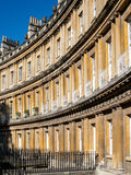 BATH, SOMERSET/UK - OCTOBER 02 : Houses in the Circus in Bath So Royalty Free Stock Images