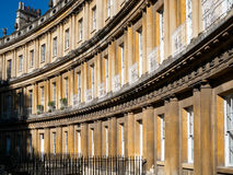 BATH, SOMERSET/UK - OCTOBER 02 : Houses in the Circus in Bath So Royalty Free Stock Image
