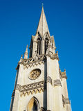 BATH, SOMERSET/UK - OCTOBER 02 : Steeple of St Michael's Church Stock Images