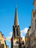BATH, SOMERSET/UK - OCTOBER 02 : Steeple of St Michael's Church Stock Photos