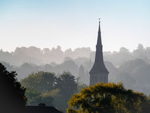 BATH, SOMERSET/UK - OCTOBER 02 : View of St Matthew's Church in Royalty Free Stock Image