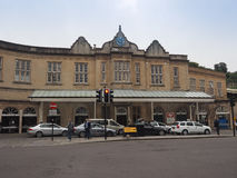 Bath Spa σταθμός τρένου στο λουτρό Στοκ φωτογραφίες με δικαίωμα ελεύθερης χρήσης
