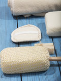 Bath and spa accessories Royalty Free Stock Images