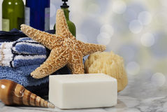 Bath Spa Concept Soap Royalty Free Stock Photos