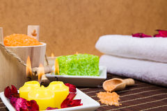 Bath and spa items Stock Photography