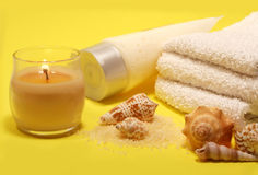 Bath/Spa Still Life Stock Photography