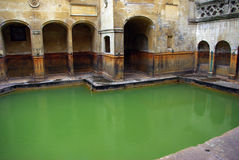 Bath Spa  waters landscape Royalty Free Stock Image