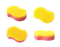 Bath sponge isolated Royalty Free Stock Photos