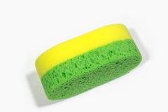 Bath sponge  on white background. Royalty Free Stock Photos