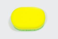 Bath sponge  on white background. Royalty Free Stock Image