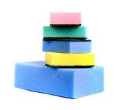 Bath sponges Stock Images