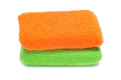 Bath sponges Stock Image