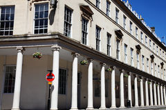 Bath Street in Bath, Somerset Stock Images