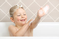 Bath time. Royalty Free Stock Images