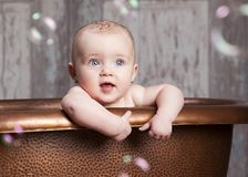 Bath time. Royalty Free Stock Photography