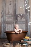 Bath time. Stock Photos