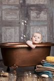 Bath time. Royalty Free Stock Photo