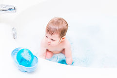 Bath time Royalty Free Stock Photo