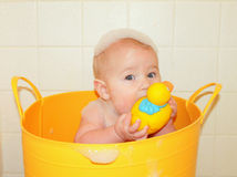 Bath time! Royalty Free Stock Photography