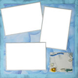 Bath Time Theme Digital Scrapbooking Page 12 X 12 Stock Photos