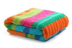Bath towel Stock Images